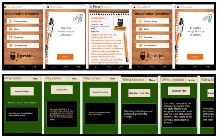 Superior.- iDeas para Escribir | Inferior  Writing Exercises and Prompts