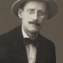 James Joyce escritor nacido en Dublín, Irlanda (1882-1940).
