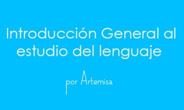 Cuaderno de notas Introducción General al estudio del lenguaje