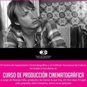 Curso de producción cinematográfica a cargo de Nicolás Célis (20, 21 y 22 de Noviembre del 2015)