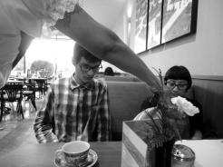 El cafecito renovable del Sanborns