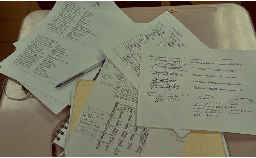 Diario de un estudiante de letras | De cuandorepruebo