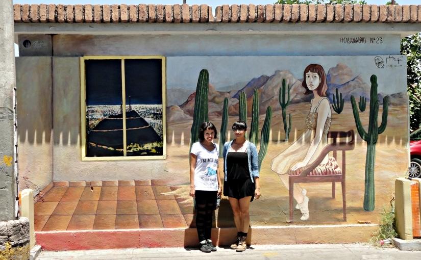 """Murales de Hermosillo: """"Habitar el desierto"""" de Dámaris NeftalíBojorquez"""