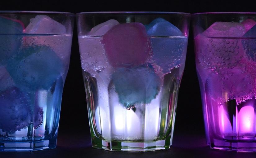 Un vaso transparente