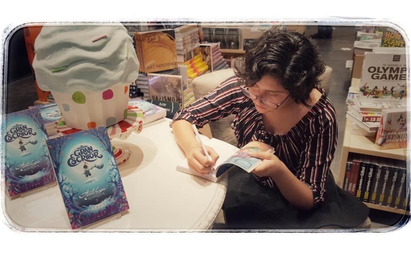 Entrevista a la pequeña gran escritora: MarianaPaz